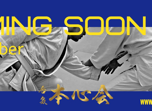 COMING SOON for Aikido Classes!