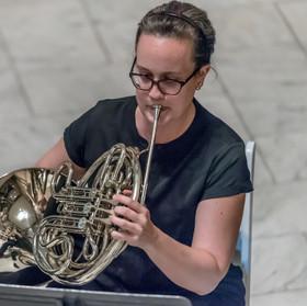 Ohio River Brass Quintet: Emily Toth, Horn.