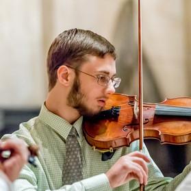 Micah Miller, violin.