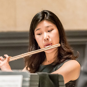 Highland Quintet: Minkyung Kim, flute.