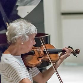 Matinée Musicale String Quartet: Judy Martin, violinist.