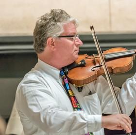 Vince Phelan, violin.