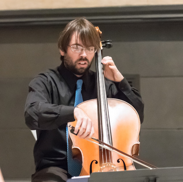 Caladrian Ensemble: Michael Gilbert Ronstadt, cello.