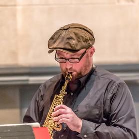 Prestalgia Duo: Kevin Norton, saxophone.