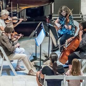 Matinée Musicale String Quartet: Larrie Howard & Judy Martin, violins, Gayna Bassin, viola, Karen Kruse, cello.