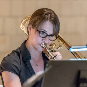 Ohio River Brass Quintet: Kelly Mills, Trombone.