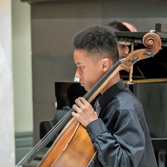 Cincinnati Young Artists: Cellist Daniel Dorsey.