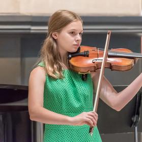 Maggie Flanders, violin.