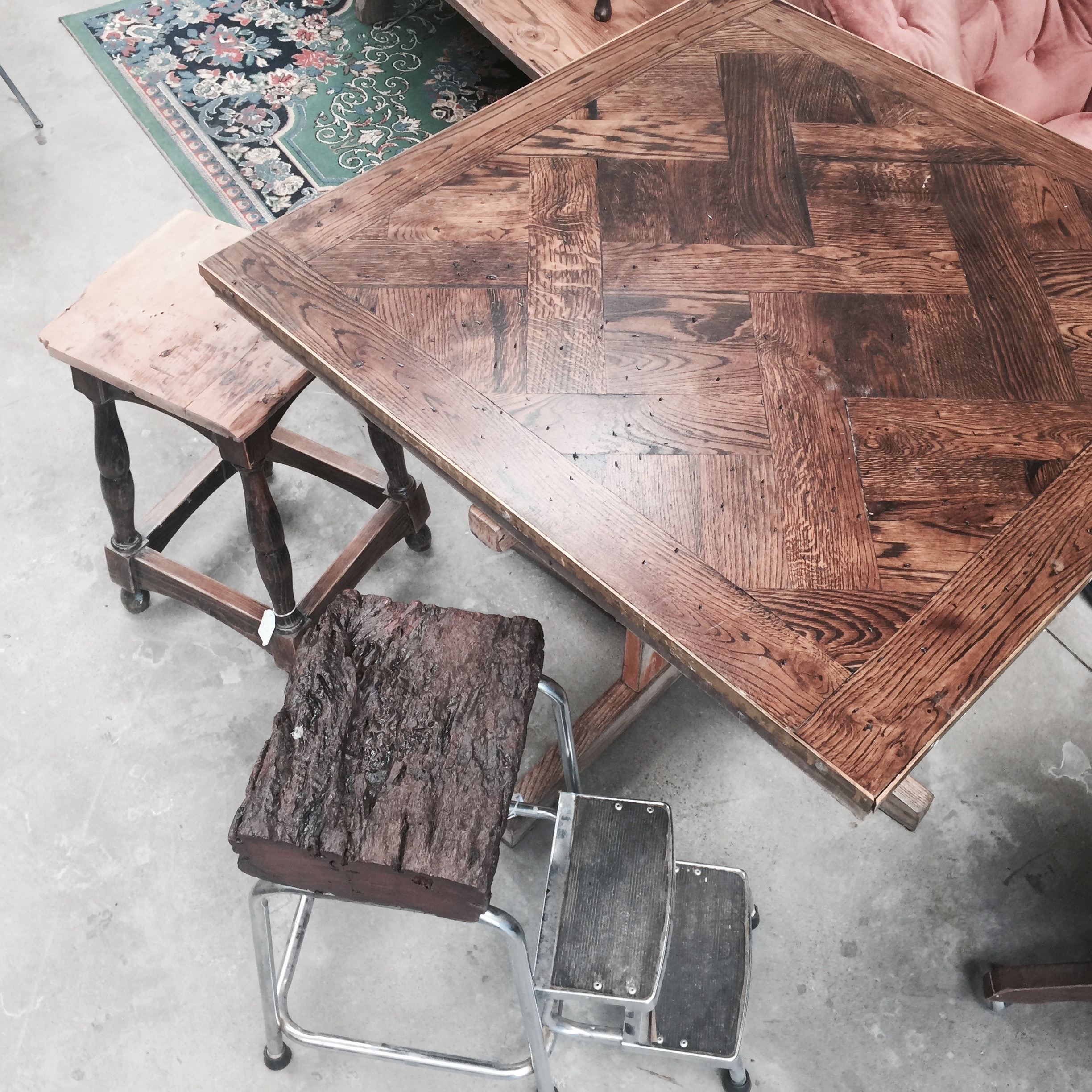 Classic Parquetry table