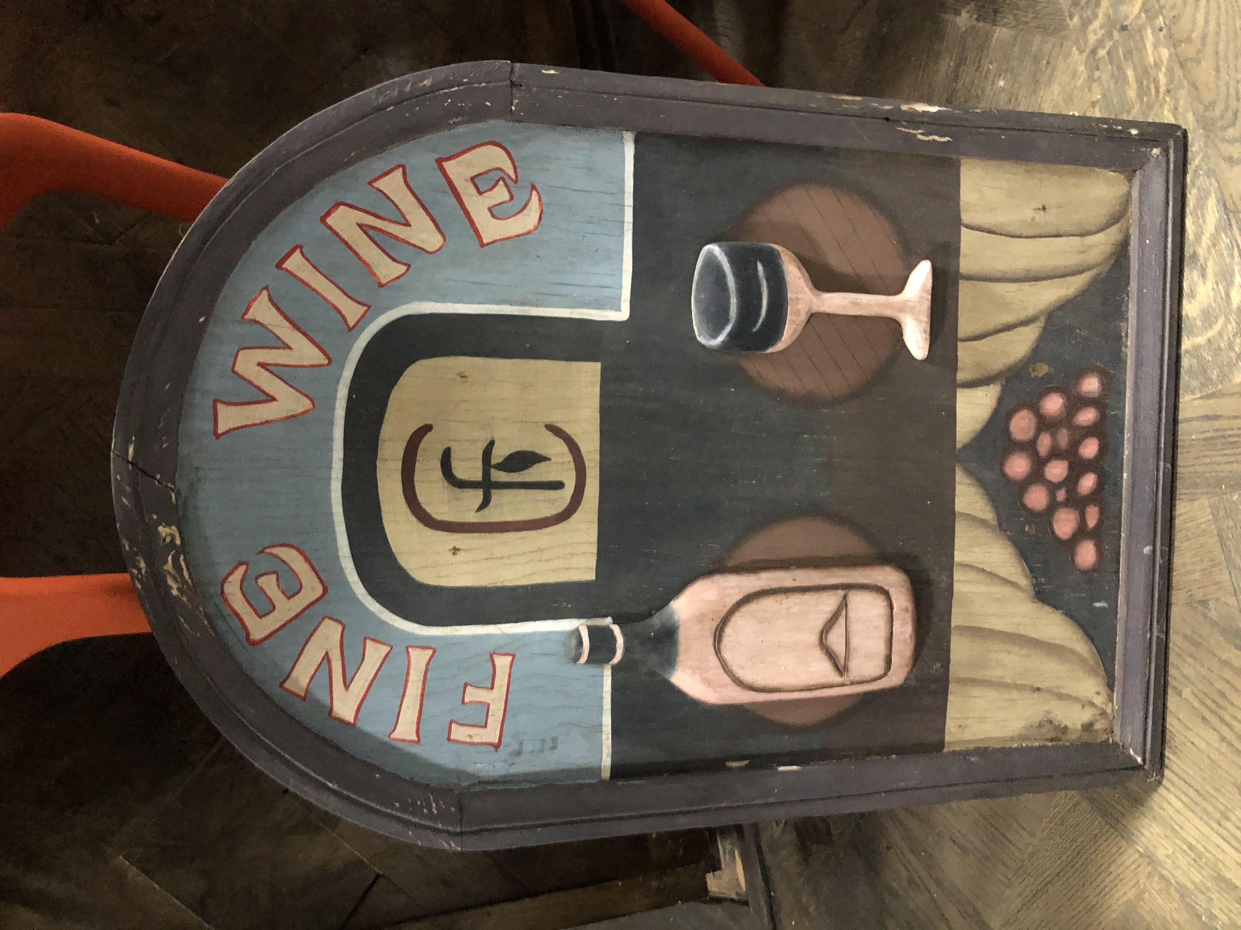 Vintage fine wine artt