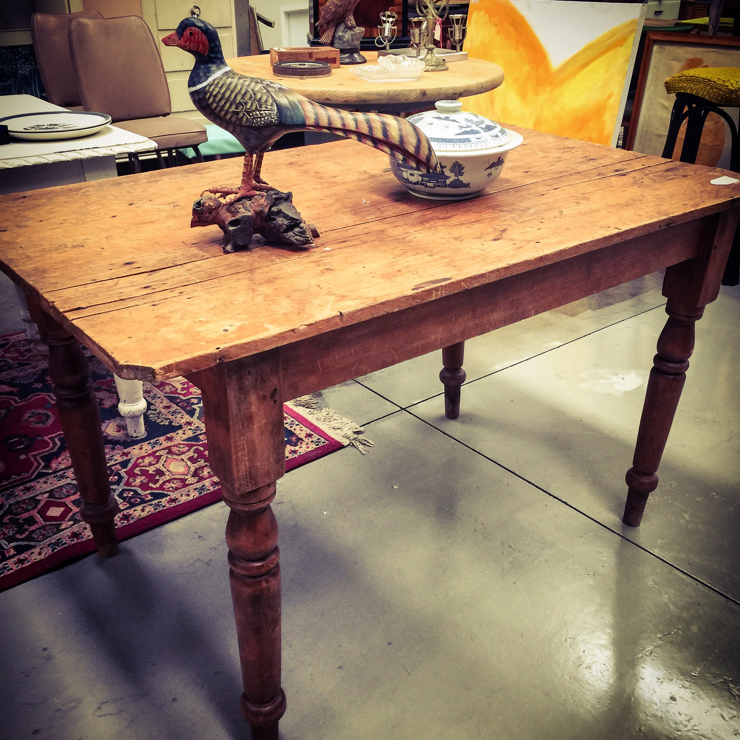 Original farm house table