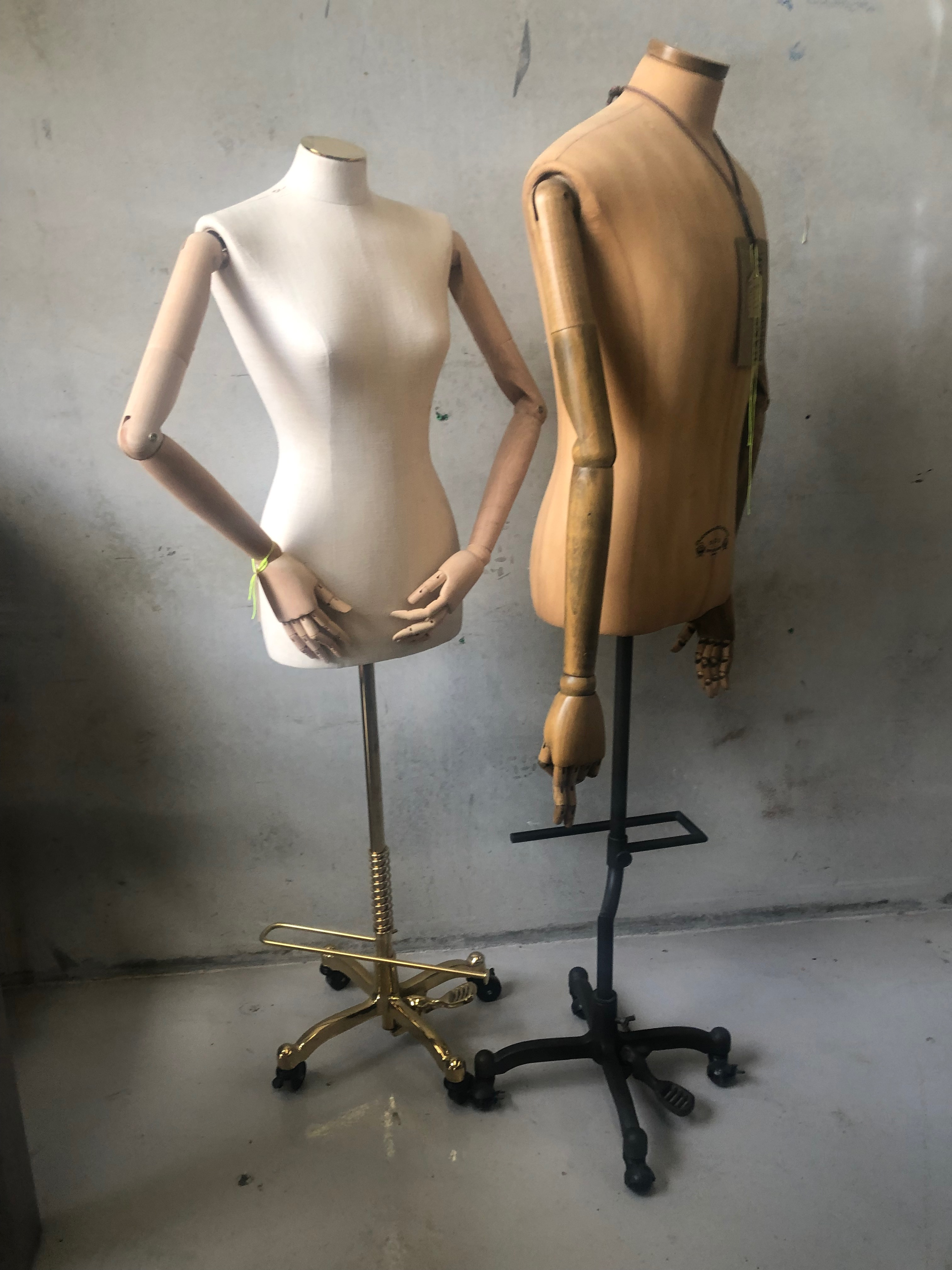 Handcrafted euro manequins