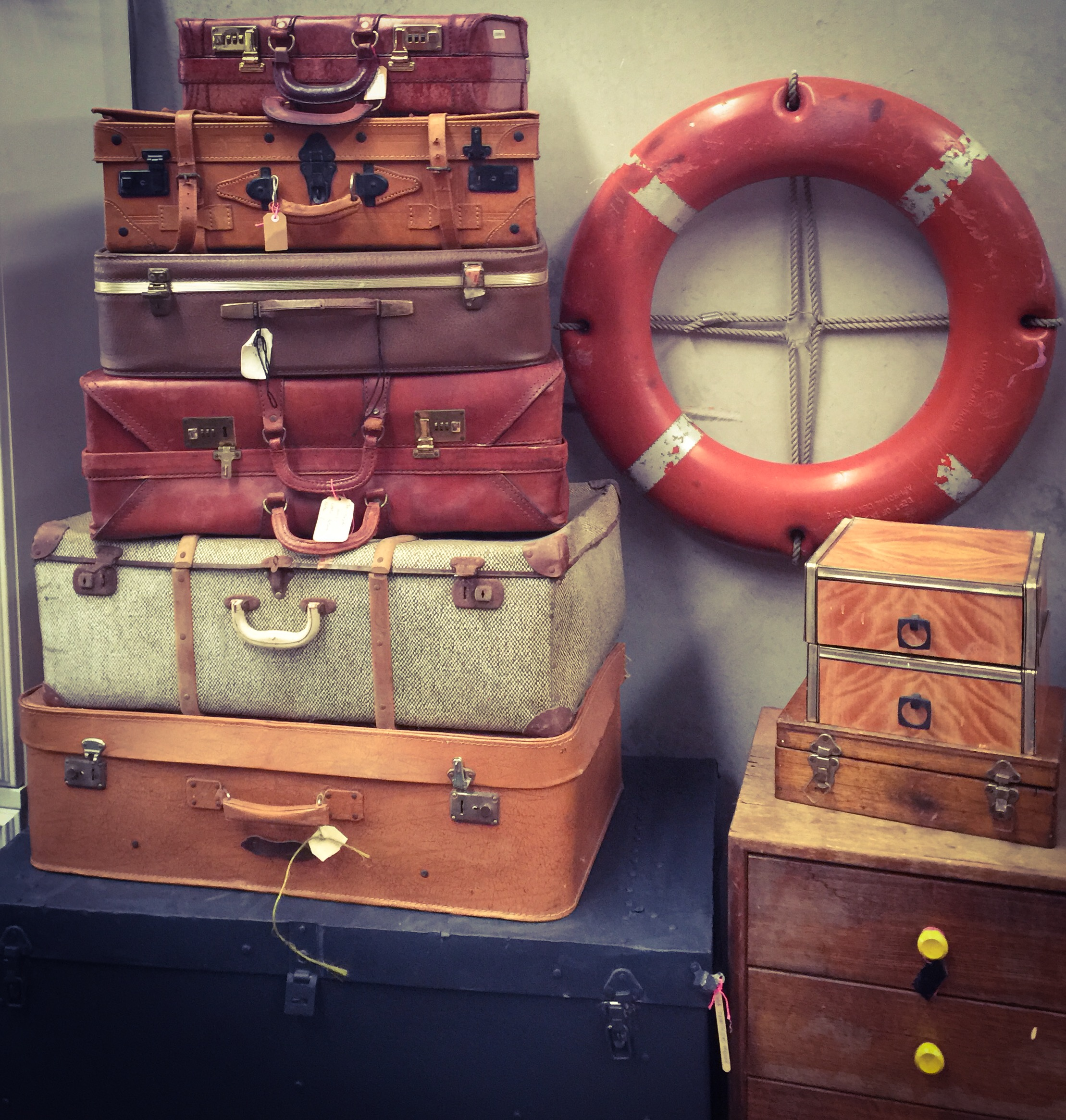 vintage trunks and cases