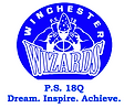 "School logo with the word ""Winchester Wizards"""