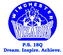 "School logo with the words ""Winchester Wizards"""