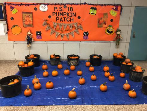 P.S. 18Q Pumpkin Patch