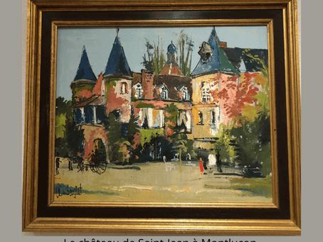 Exposition virtuelle de quelques tableaux de mon père, Jean Bougret (1922 - 1979).