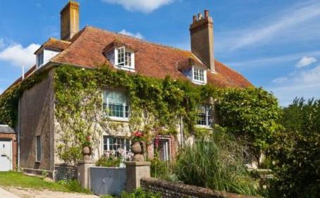 Une maison que Virginia Woolf fréquentait souvent :