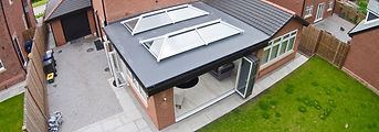 Single Storey Extension With Roof Lantern