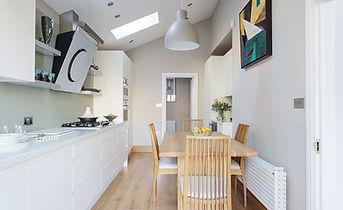 Kitchen-garage conversion extension Liverpool