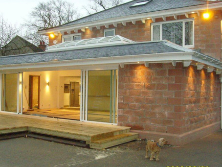 HomeextensionLiverpool with Sky Pod / Roof Lanterninstalled to a flat roof extension.