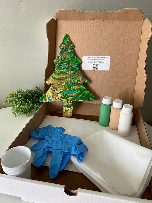Tree Cutout Paint Kit