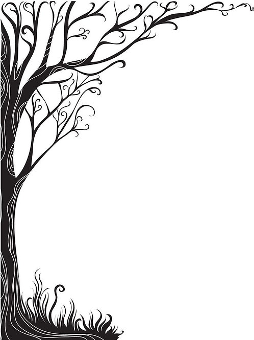 Vinyl Whimsical Tree Decal