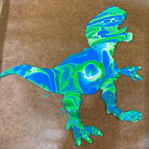 T-Rex Wood Cutout Paint Kit