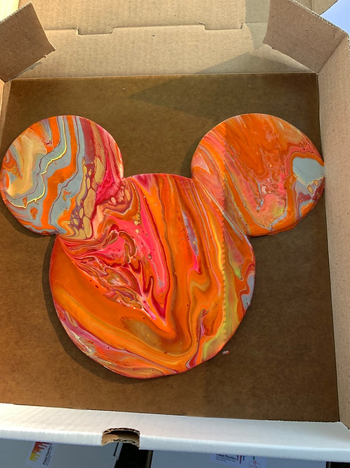 Mickey Mouse Wood Cutout Paint Kit