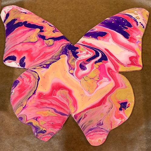 Butterfly Wood Cutout Paint Kit