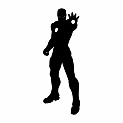 Vinyl Iron Man Decal