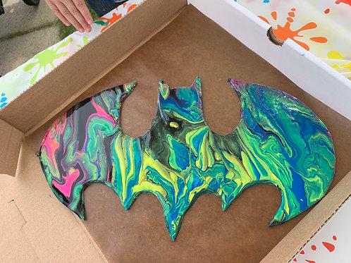 Batman Wood Cutout Paint Kit