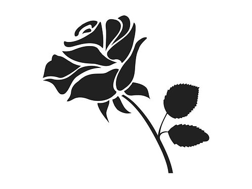 Vinyl Rose Decal