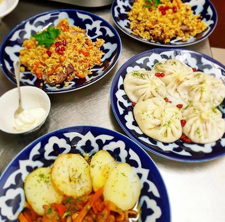 Il primo e unico ristorante con cucina uzbeka, dove ti innamorerai al primo morso.