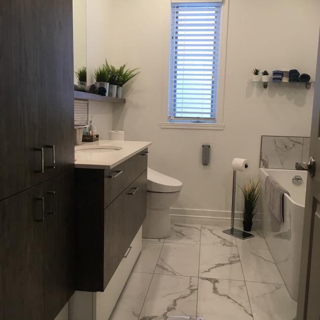 Salle de bain Kapelle 2020