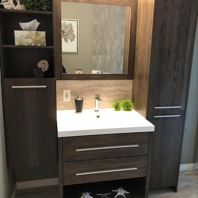 Salle de bain transitionnelle