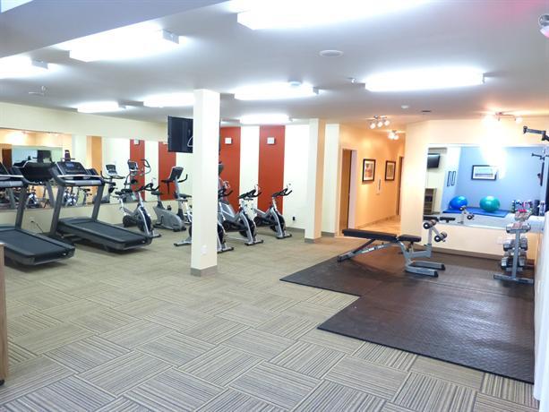 Auberge du Lac Champlain Gym
