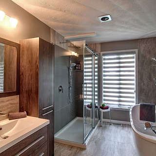 Salle de bain transitionnelle
