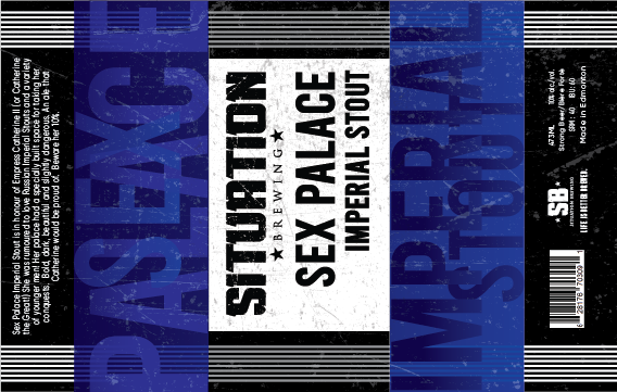 Situation Brewing Can Label