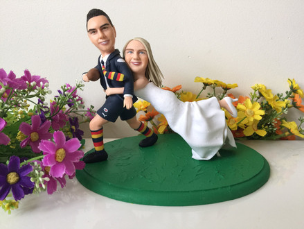 David's Clay Figures. This Months Featured Wedding Supplier