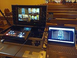 WGM Wedding Videographers | Christening Live Streaming Equipment