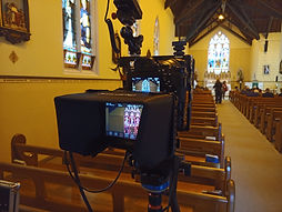 WGM Wedding Videographers | Christening Live Streaming Camera