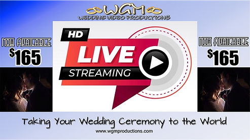 WGM Wedding Videographers | Live Steam | Canberra Wedding Videographers