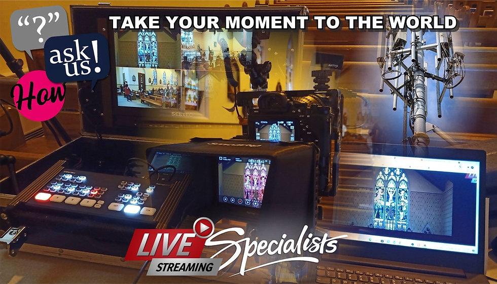 WGM Wedding Videographers | Live Streaming Banner