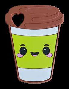 Matcha Latte Silicone Teether
