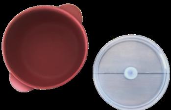 Silicone Bowl - Sangria