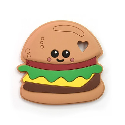 Cheeseburger Silicone Teether