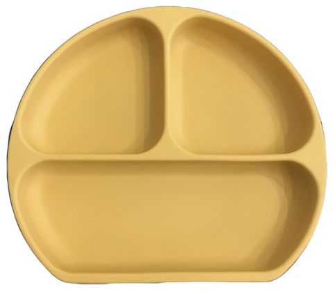 The Case - Silicone Suction Plate - Mustard