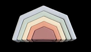 Silicone Rainbow Toy