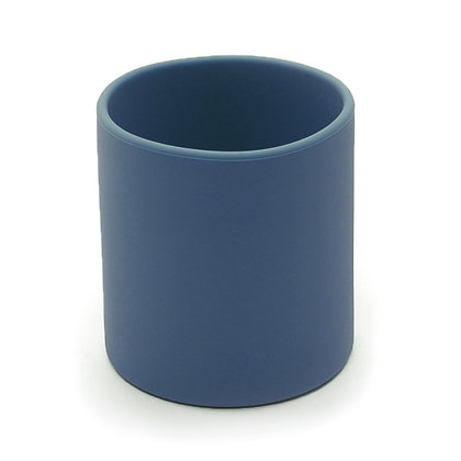 Silicone Training Cup- Dark Cobalt